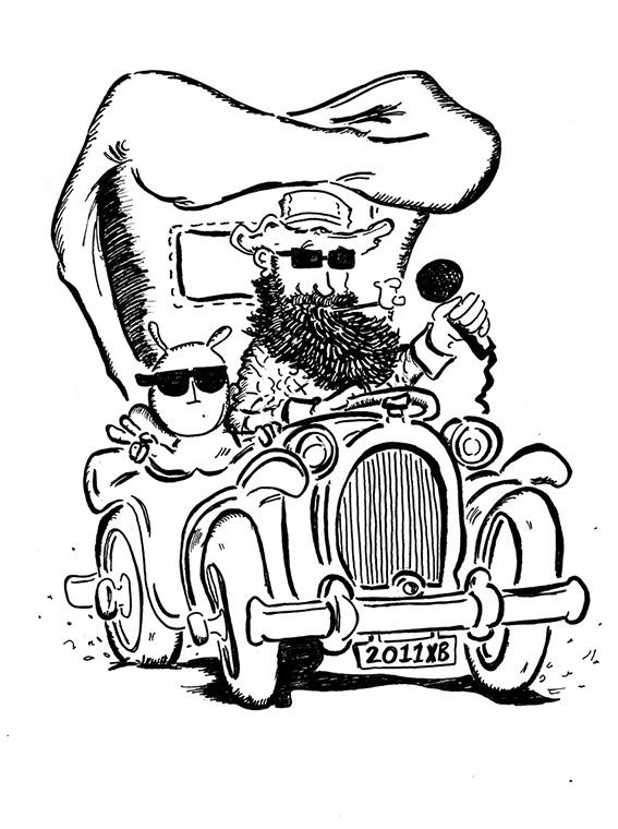 Poster Beeckestijn schets 2