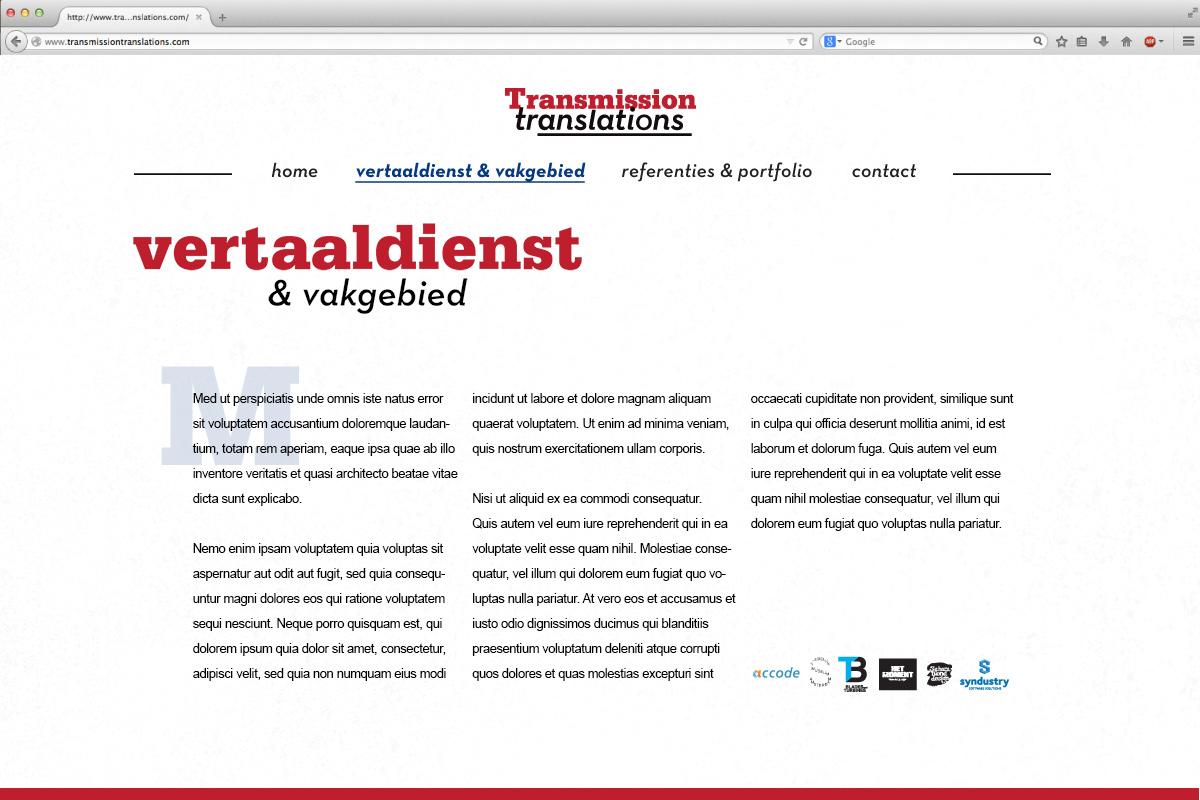 Joris Kreb TransmissionTranslations