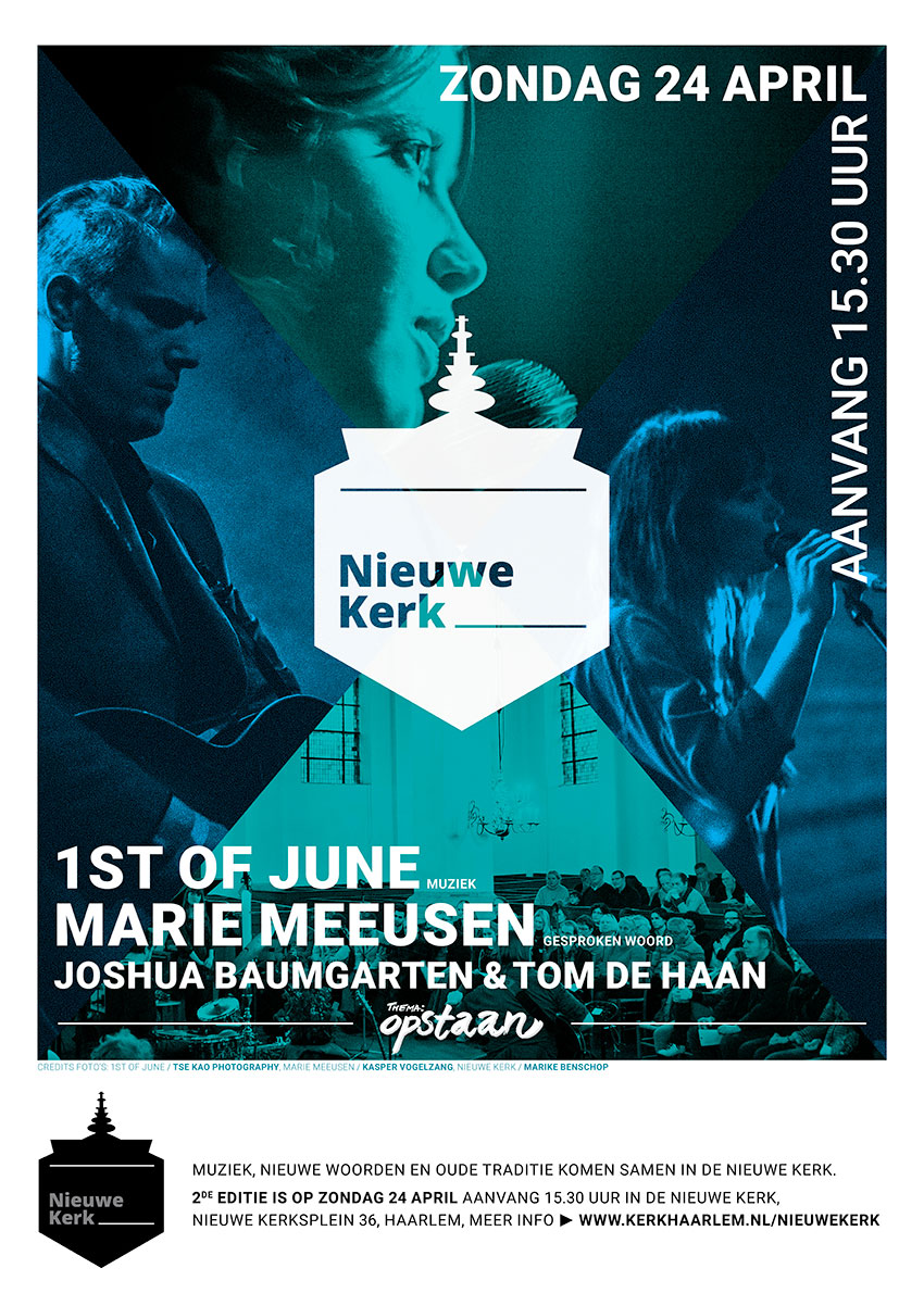 Poster Nieuwe Kerk 2e editie